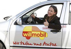 Willmobil Carsharing ist komfortabel!